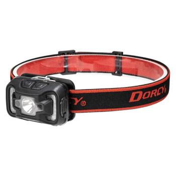 330-Lumen USB Rechargeable Motion Sensor Headlamp