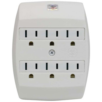 6-Outlet Saf-T-Gard Grounded Wall Tap