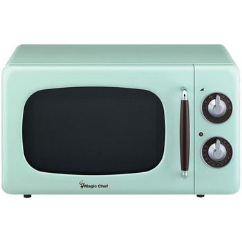 .7 Cubic-ft 700-Watt Retro Microwave (Mint Green)