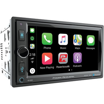 "6.5"" Double-DIN In-Dash Digital Media Receiver with Bluetooth(R) & Apple CarPlay(TM)"