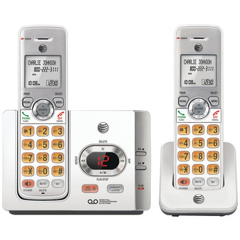 DECT 6.0 Cordless Answering System with Caller ID/Call Waiting (2 Handsets)