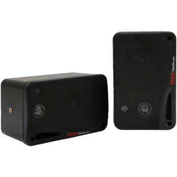 3.5-Inch 200-Watt 3-Way Indoor/Outdoor Bluetooth(R) Home Speaker System (Black)