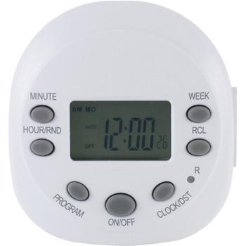 Indoor Plug-in 7-Day Programmable Digital Timer