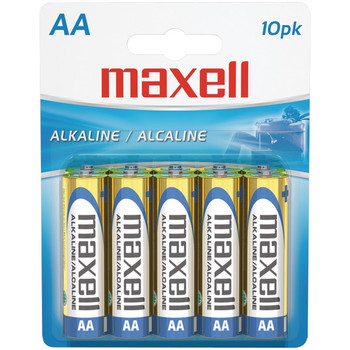 Alkaline Batteries (AA; 10 pk; Carded)