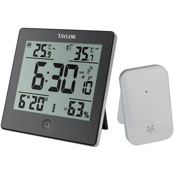 Wireless Indoor & Outdoor Weather Station with Hygrometer