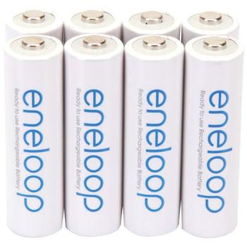 eneloop(R) Rechargeable Batteries (AA; 8 pk)