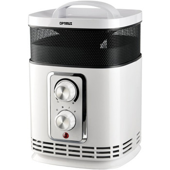 Portable 360? Surround Ceramic Heater with Thermostat