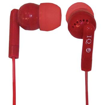 Porockz Stereo Earphones (Red)