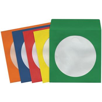 CD/DVD Storage Sleeves (50 pk; Colors)