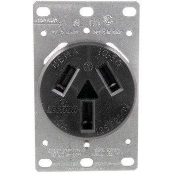 Single-Flush Range Receptacle (3 wire)