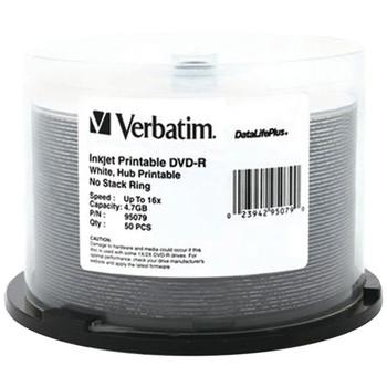 4.7GB DataLifePlus(R) DVD-Rs, 50-ct Spindle
