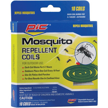 Mosquito Repellent Coils, 10 pk