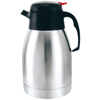 40-Ounce Vacuum-Insulated Stainless Steel Coffee Carafe