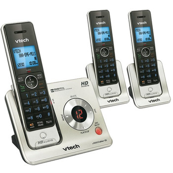 DECT 6.0 3-Handset Answering System with Caller ID/Call Waiting
