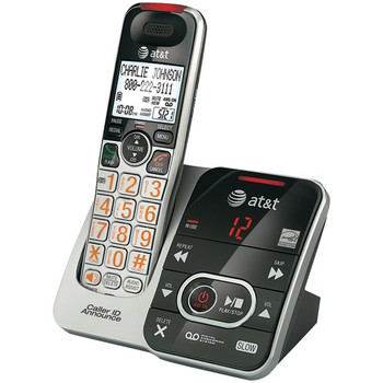 DECT 6.0 Big-Button Cordless Phone System with Digital Answering System & Caller ID
