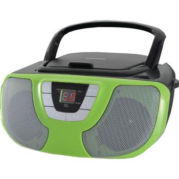 Portable CD Radio Boom Box (Teal)