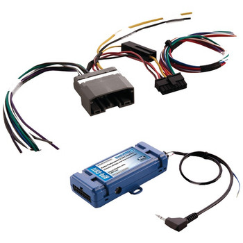 All-in-One Radio Replacement & Steering Wheel Control Interface (For select Chrysler(R) vehicles with CANbus)