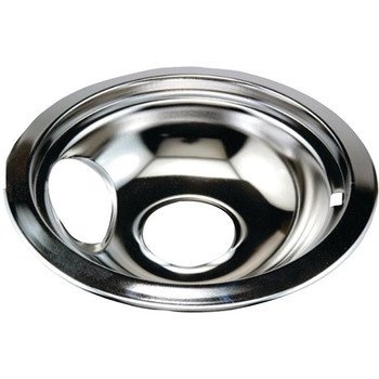 """Chrome Replacement Drip Pan for Whirlpool(R) (8"""")"""