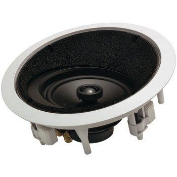 """6.5"""" 2-Way Round Angled In-Ceiling LCR Loudspeaker"""