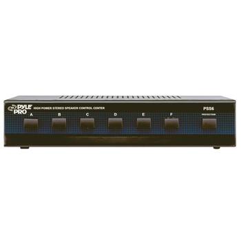 High-Power Stereo Speaker Selector (6 Channels)