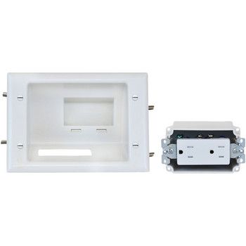 Recessed Low-Voltage Mid-Size Plate