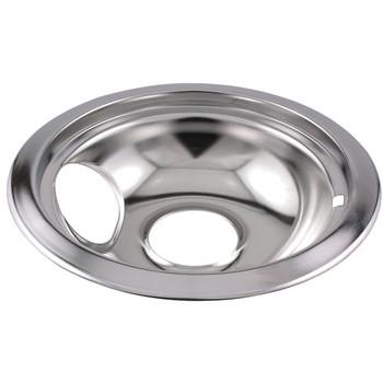 "Universal Chrome Drip Pan (6"")"