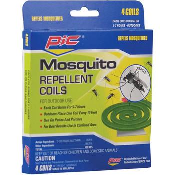Mosquito Repellent Coils, 4 pk