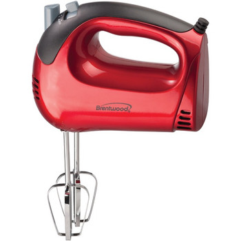 5-Speed Electric Hand Mixer (Red)