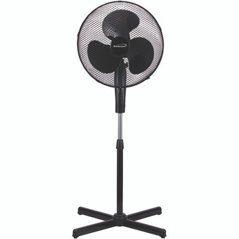 """16"""" Oscillating Stand Fan (White)"""