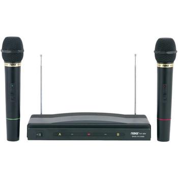 Professional Dual Wireless Microphone Kit