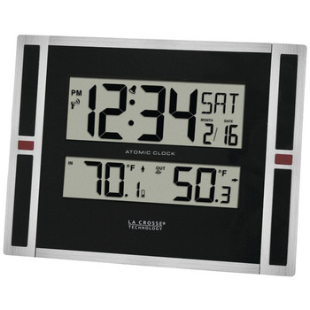 Indoor/Outdoor Thermometer & Atomic Clock