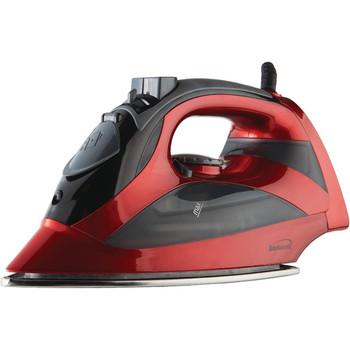 Steam Iron with Auto Shutoff (Red)