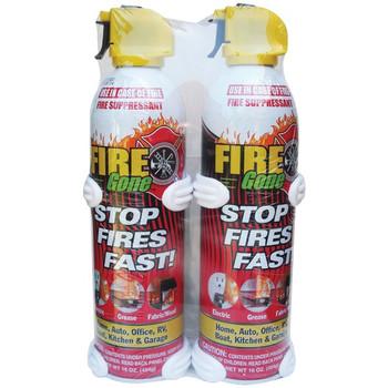 Fire Suppressants with Bracket, 2 pk