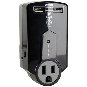 Protect It(R) 3-Outlet Surge Protector with USB Ports
