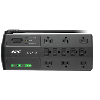 11-Outlet SurgeArrest(R) Surge Protector with 2 USB Charging Ports