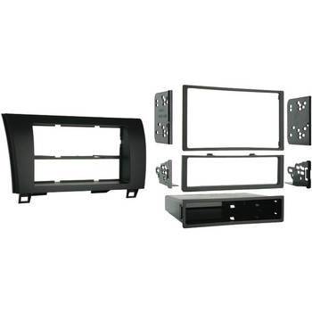 Single- or Double-DIN Installation Kit for 2007 through 2013 Toyota(R) Tundra/Sequoia 2008 and Up