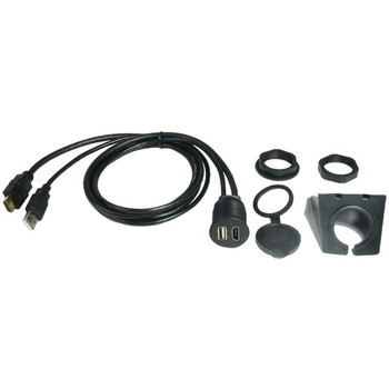 3-Foot Dash-Mount Extension Cables for HDMI(R) and USB