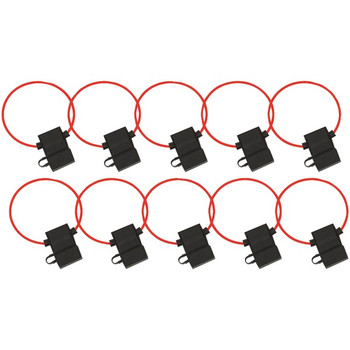 ATC Fuse Holder with Cover, 10 pk (16 Gauge)
