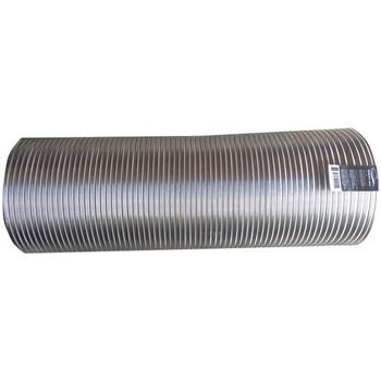 """Semi-Rigid Aluminum Duct, 8ft (10"""" dia)"""