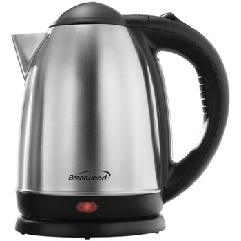 1.7-Liter Stainless Steel Cordless Electric Kettle (Brushed Stainless Steel)