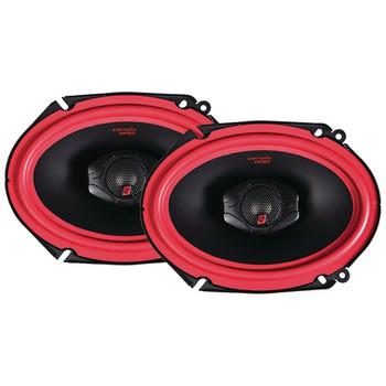 "Vega Series 2-Way Coaxial Speakers (6"" x 8"", 400 Watts max)"