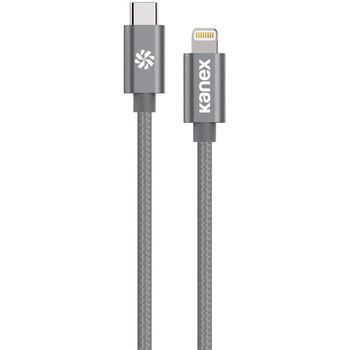 Premium DuraBraid(R) USB-C(TM) to Lightning(R) Cable, 6 Feet (Space Gray)