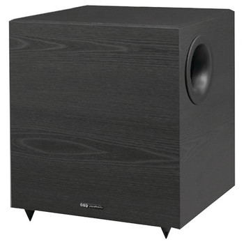 Down-Firing Powered Subwoofer for Home Theater and Music (10-Inch, 350 Watts)