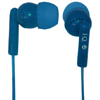 Porockz Stereo Earphones (Blue)
