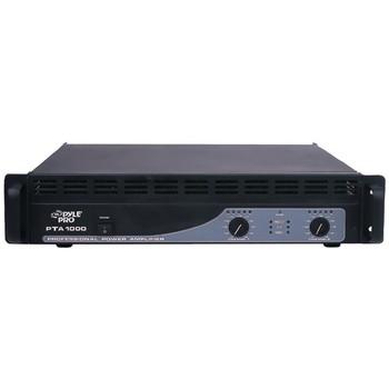 1,000-Watt, 2-Channel Professional Power Amp with Bluetooth(R)