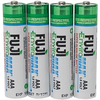 EnviroMax(TM) AAA Super Alkaline Batteries (4 Pack)