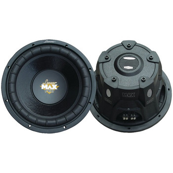 """MaxPro Series Small 4ohm Dual Subwoofer (12"""", 1,600 Watts)"""
