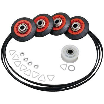 Dryer Drum Roller/Idler/Belt Kit for Whirlpool(R)