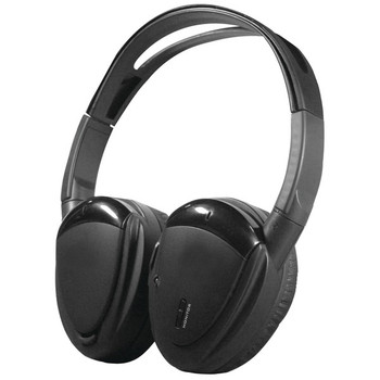 2-Channel RF 900MHz Wireless Headphones with Swivel Earpads for Power Acoustik(R) Mobile A/V Systems