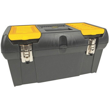"""19"""" Tool Box with Removable Tray"""